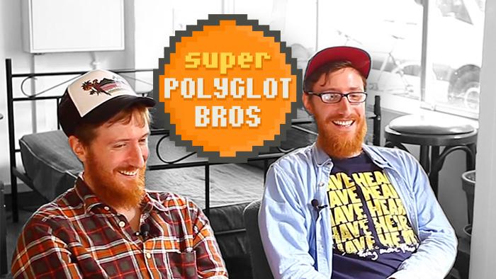 Deux jumeaux, plus de vingt langues : voici les Super Polyglot Brothers !