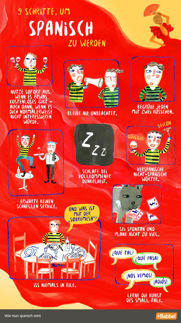 Spanisch werden in 9 Schritten – ein Leitfaden
