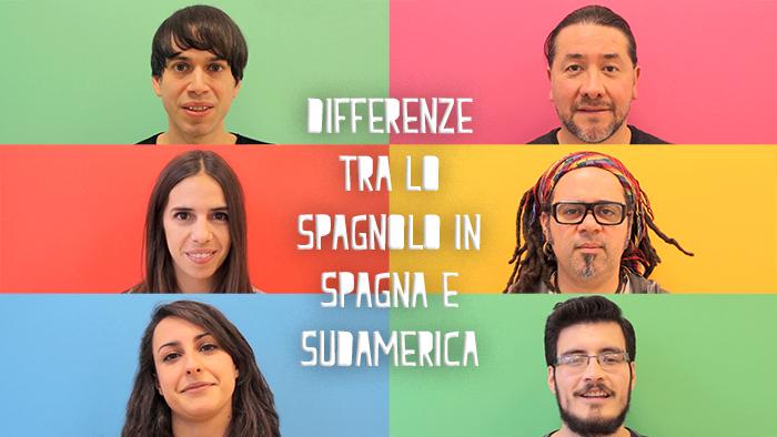 Che differenze ci sono tra lo spagnolo parlato in Spagna e quello dell'America Latina?
