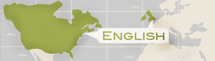 What are the most spoken languages? English
