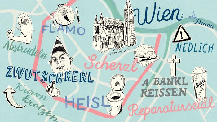 Die 9 wichtigsten wienerischen Wörter, um den Urlaub zu überleben