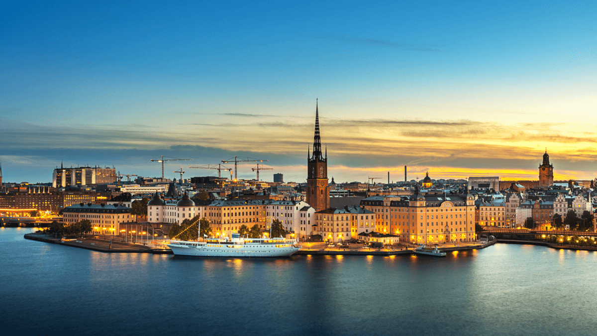 Stockholm skyline reasons to learn Swedish
