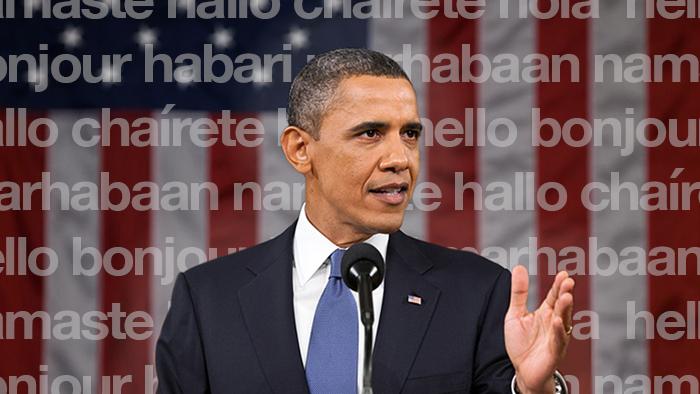 ¡Hasta siempre, presidente! Obama y los idiomas