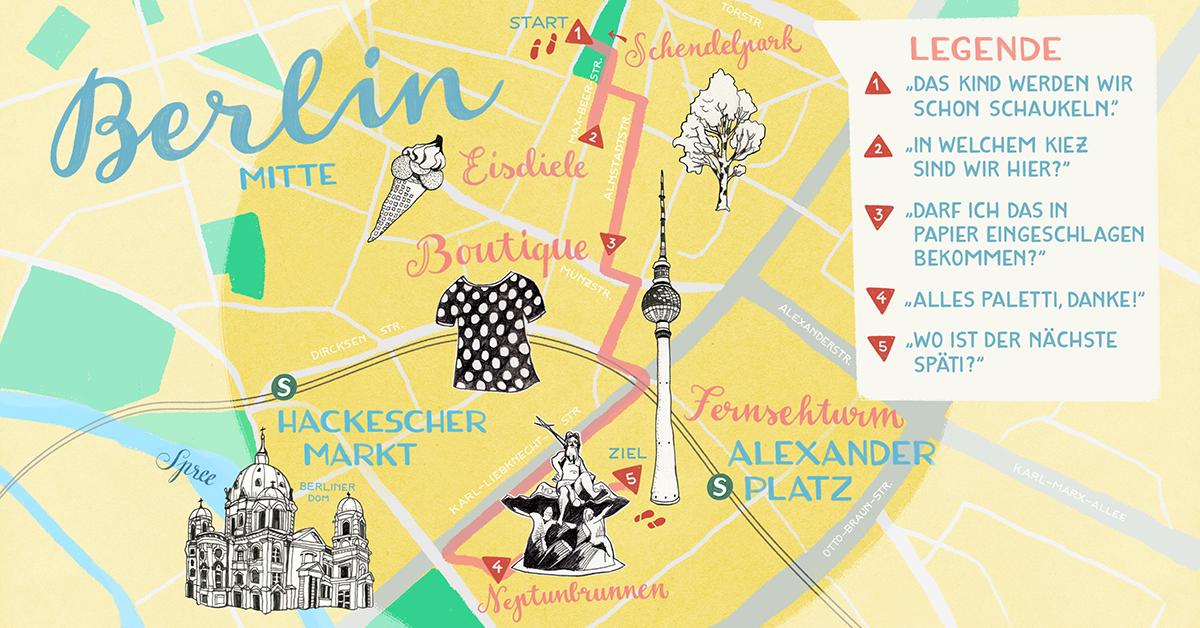 Sieben Sätze, mit denen du jeden in Berlin stark beeindruckst