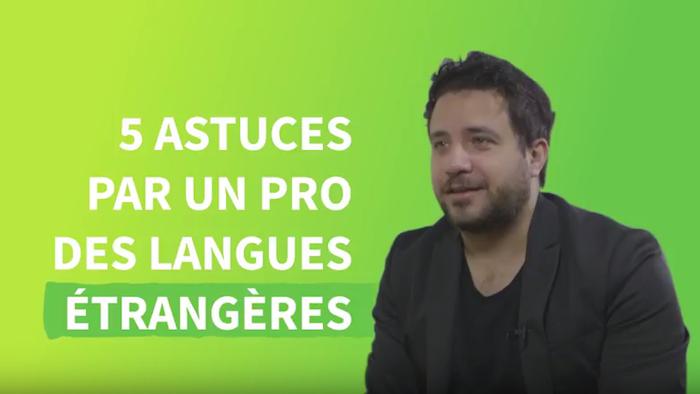 Les 5 conseils de Luca Lampariello, coach en langues étrangères