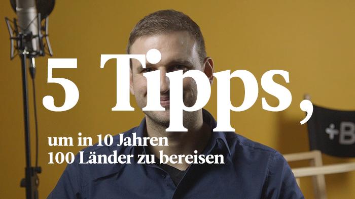 In 10 Jahren 10 Sprachen lernen und 100 Länder bereisen? Stephan hat es mit diesen 5 Tipps geschafft!