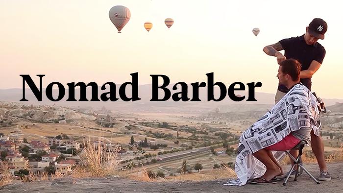 Der Nomad Barber bereist in einem Jahr 21 Länder