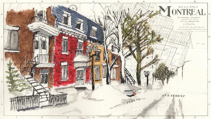 Uma cidade, dois idiomas: Montreal