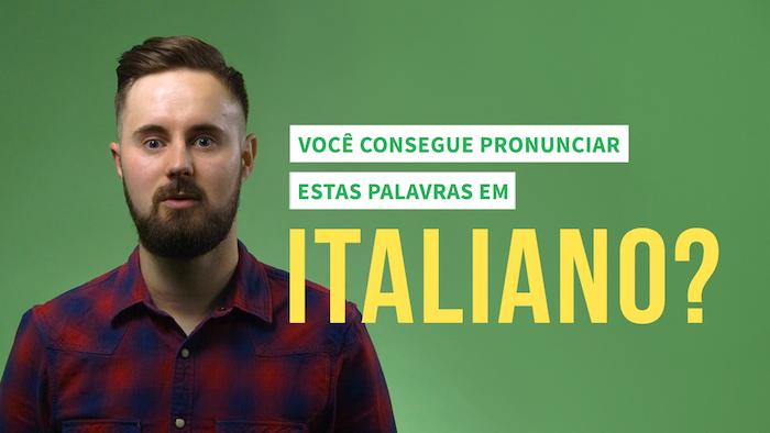 """7 palavras """"difficilissime"""" para ajudar você a aprender a falar italiano"""