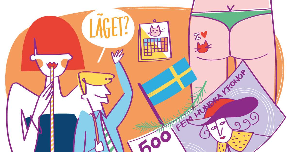 how to say beautiful in swedish