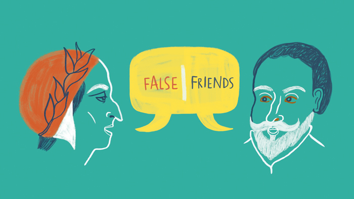False friends: Españoles e italianos, primos hermanos