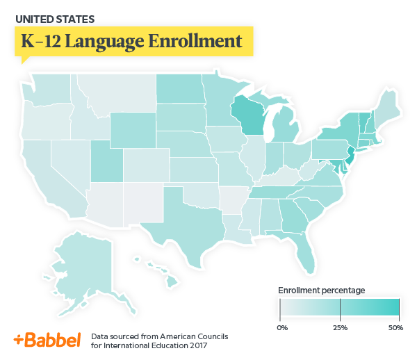 Here Are The Best And Worst States For Language Education