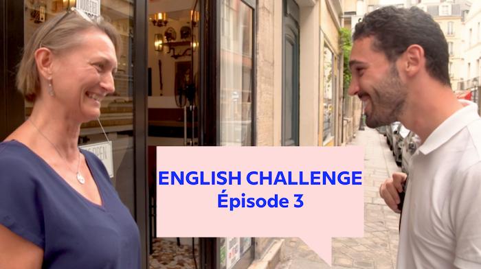 The English Challenge, 3e épisode – Deux mois pour apprendre l'anglais