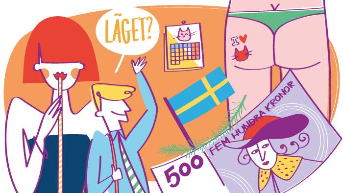 13 palabras en sueco extremadamente útiles
