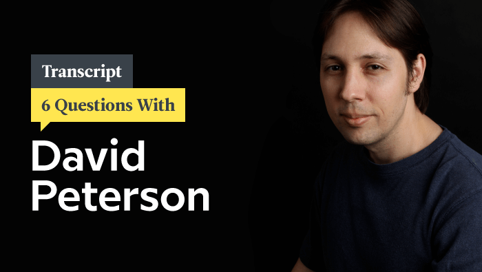 6 Questions With Dothraki Creator David J. Peterson: Transcript