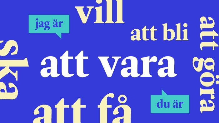 La conjugaison des 20 verbes suédois les plus courants