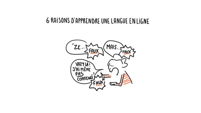 Pourquoi prendre des cours de langue sur Internet ?