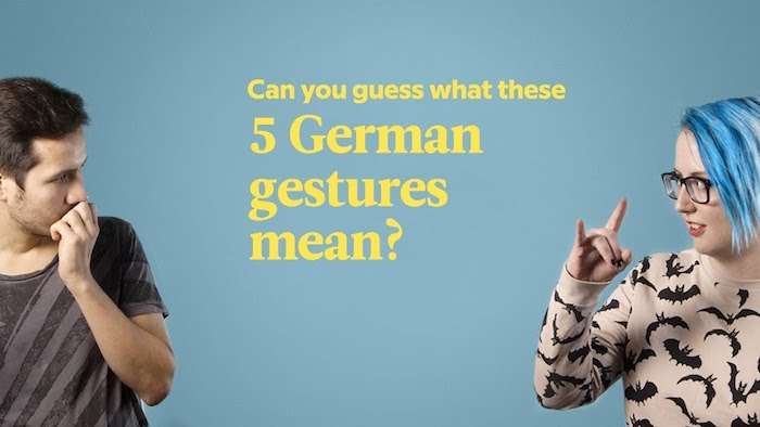 Do You Know These 5 German Gestures?