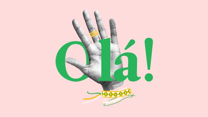 Cómo se dice hola en portugués (de Brasil)