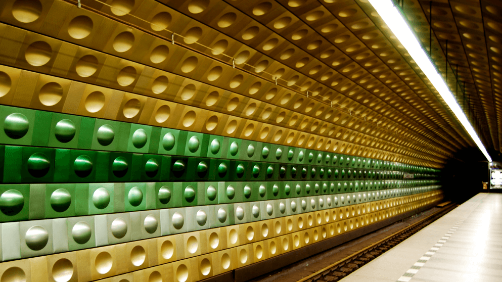 Subway systems around the world Prague