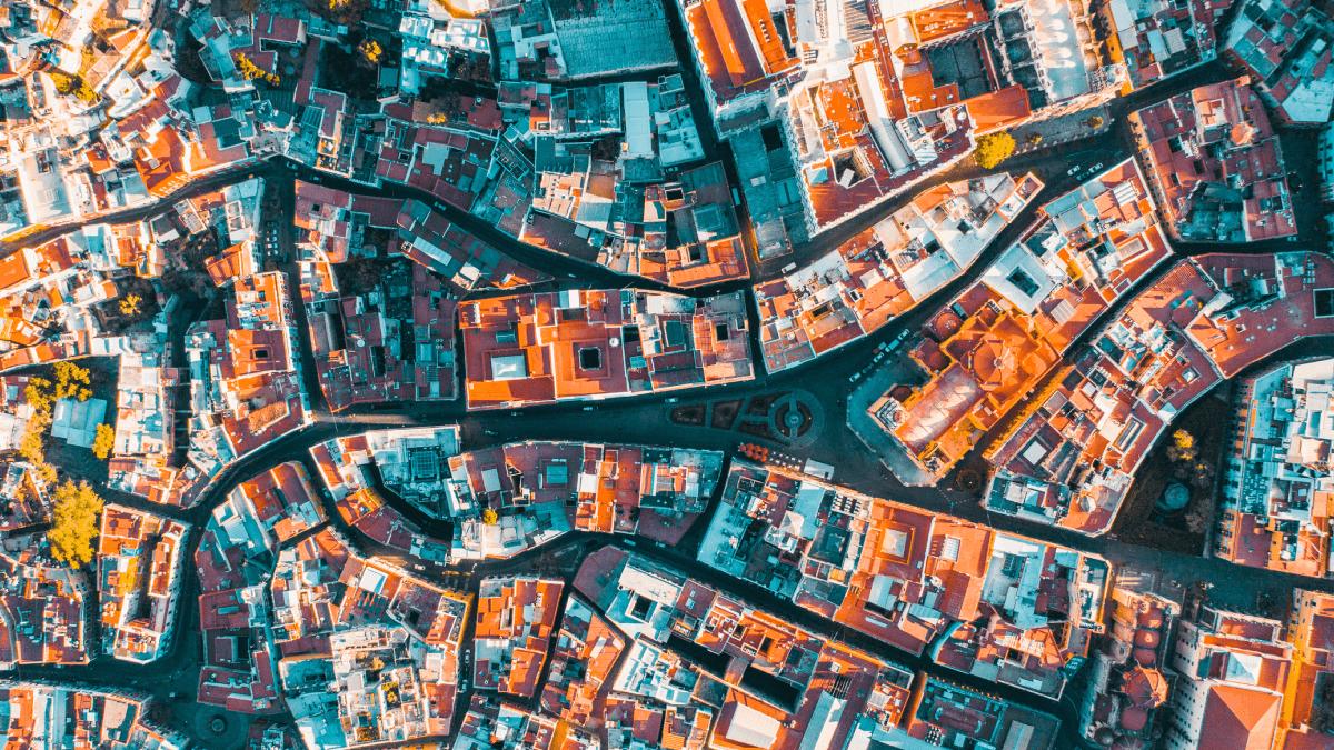 An aerial view of Guanajuato for Cinco de Mayo