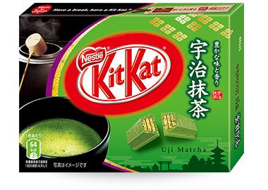 Uji Matcha Kit Kat