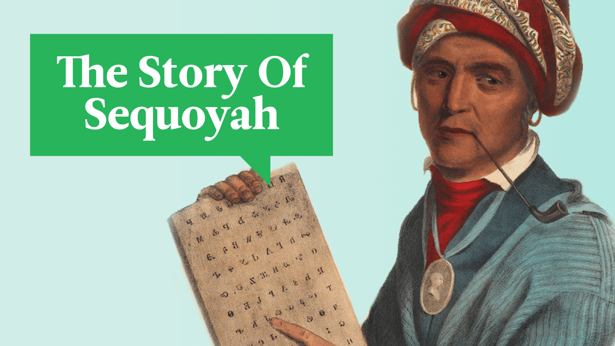 How One Man Created A Written Language From Scratch