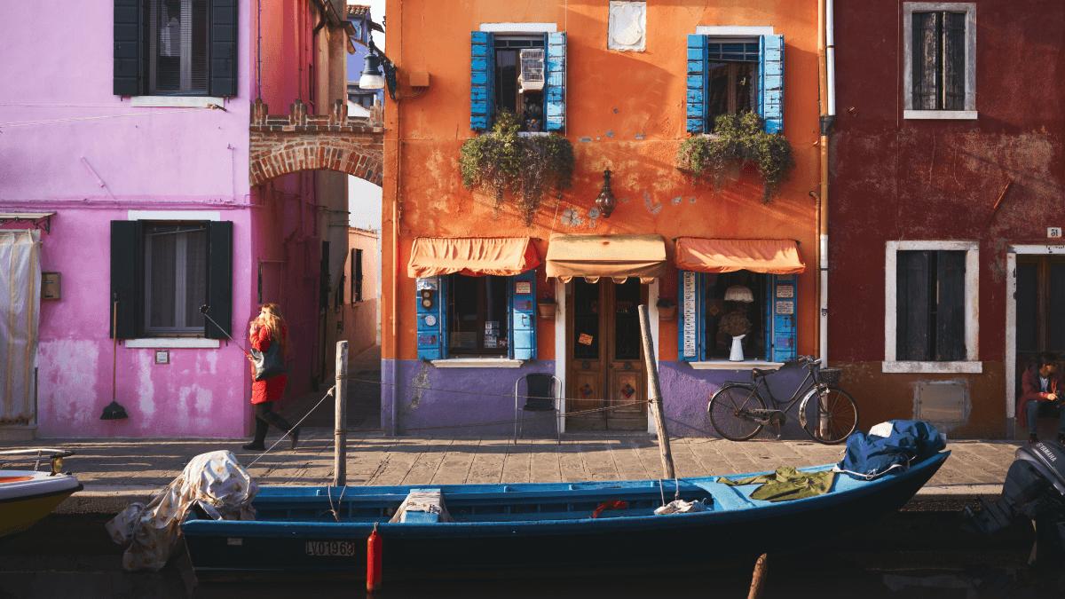 A gondola in Venice for the 11 best Italian idioms