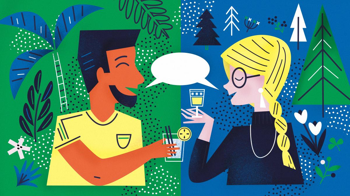 Sprichst du eine Sprache besser, wenn du betrunken bist?