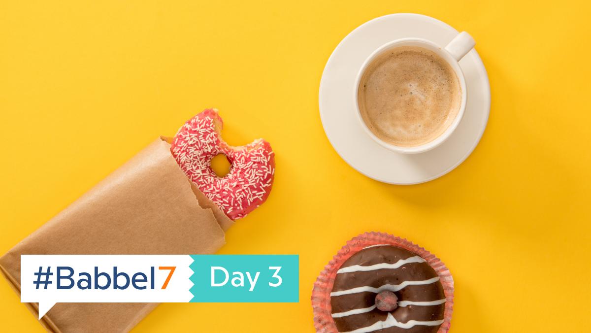 #Babbel7 Day 3: Food, Glorious Food