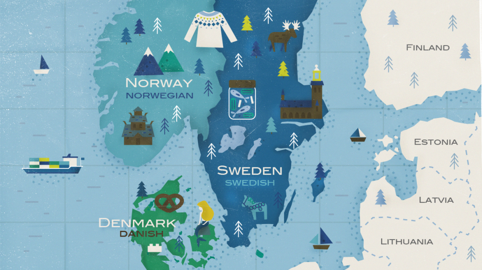 Las lenguas escandinavas: ¿3 por el precio de una?
