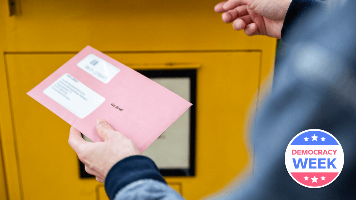 mail-in ballot box voting in other countries
