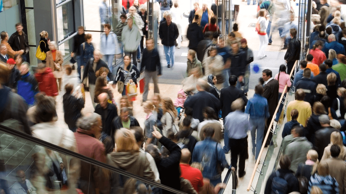 frenzied retail crowds what is black friday