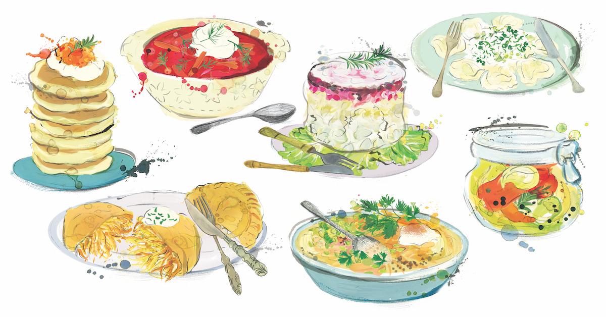 Zwischen Kartoffel und Kaviar – ein Streifzug durch russisches Essen