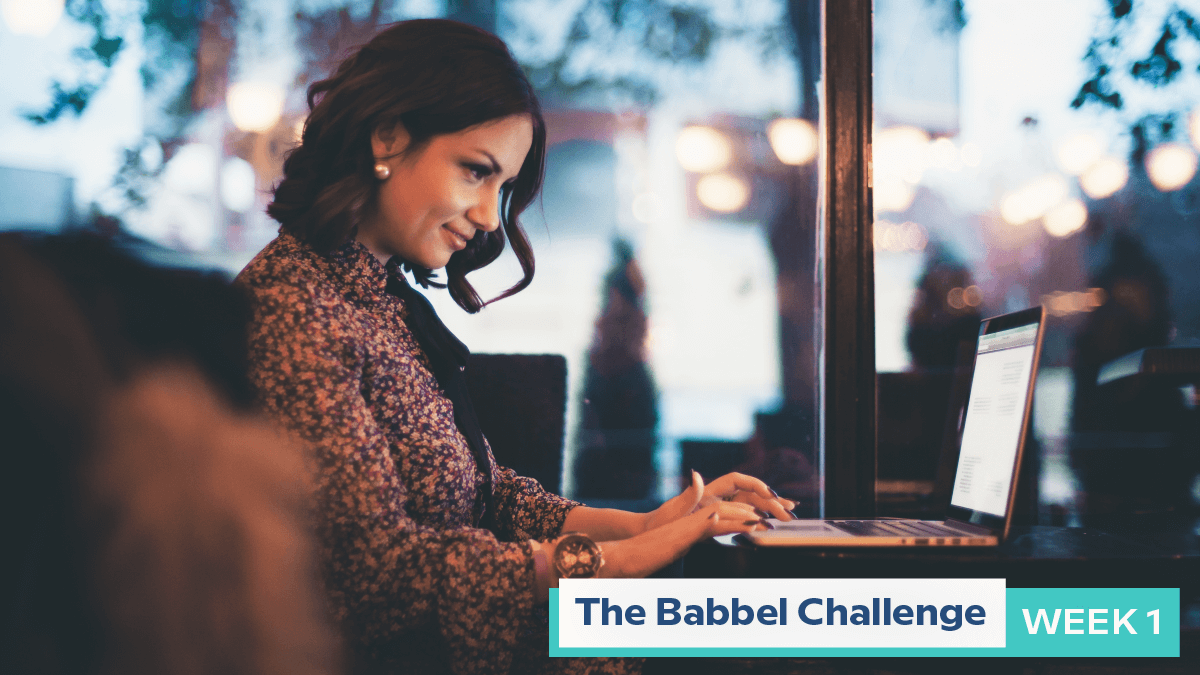 Babbel Challenge Week 1: Find Your Community