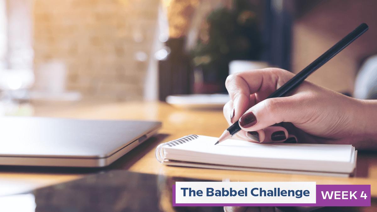Babbel Challenge Week 4: Tackle Smart Goals