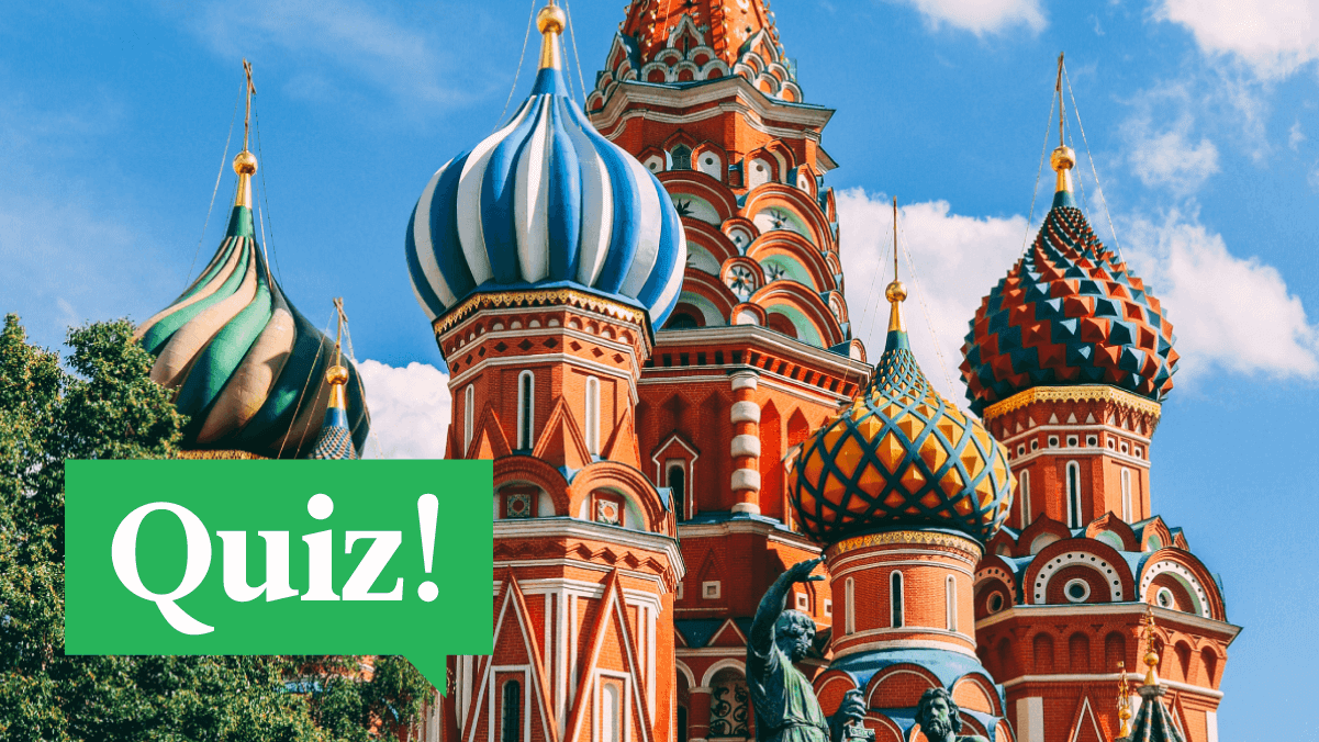 Quiz: Do You Know The Colors In Russian?