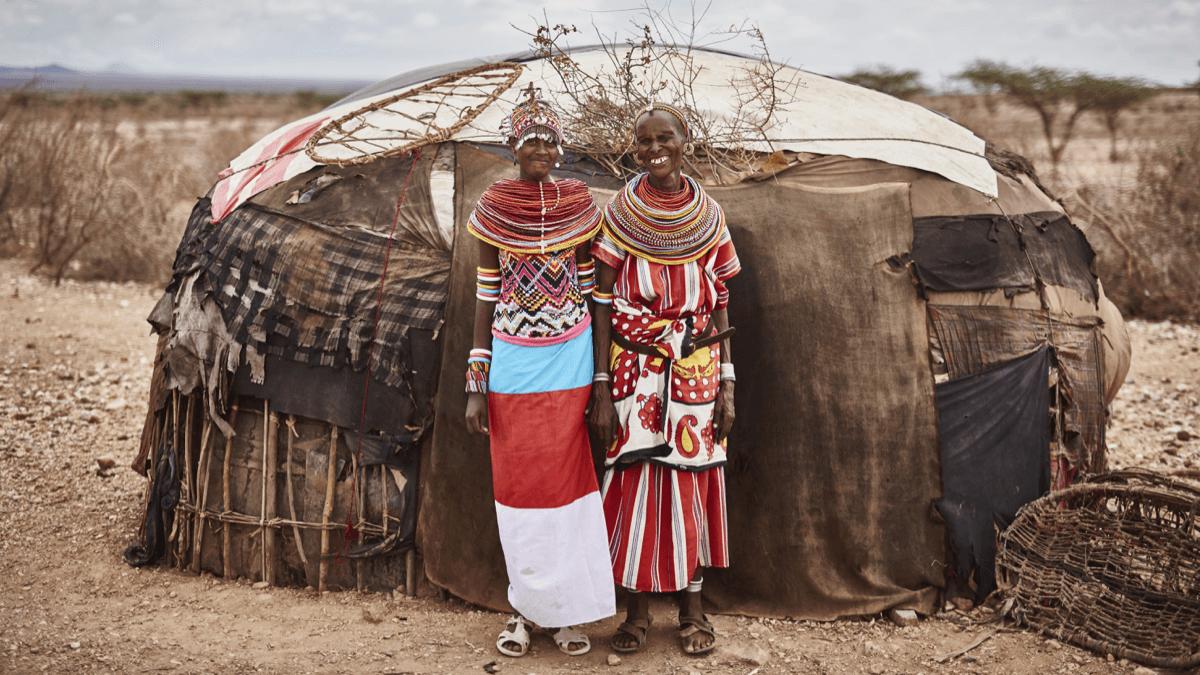 two women in kenya