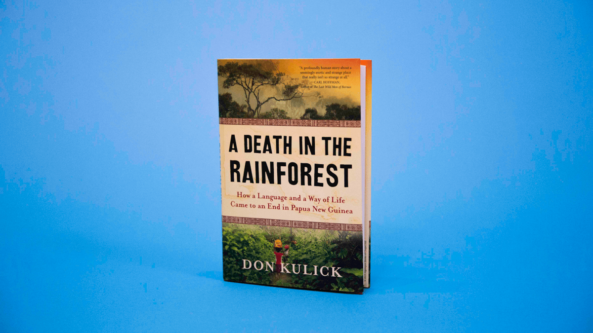 The cover of A Death in the Rainforest by Don Kulick