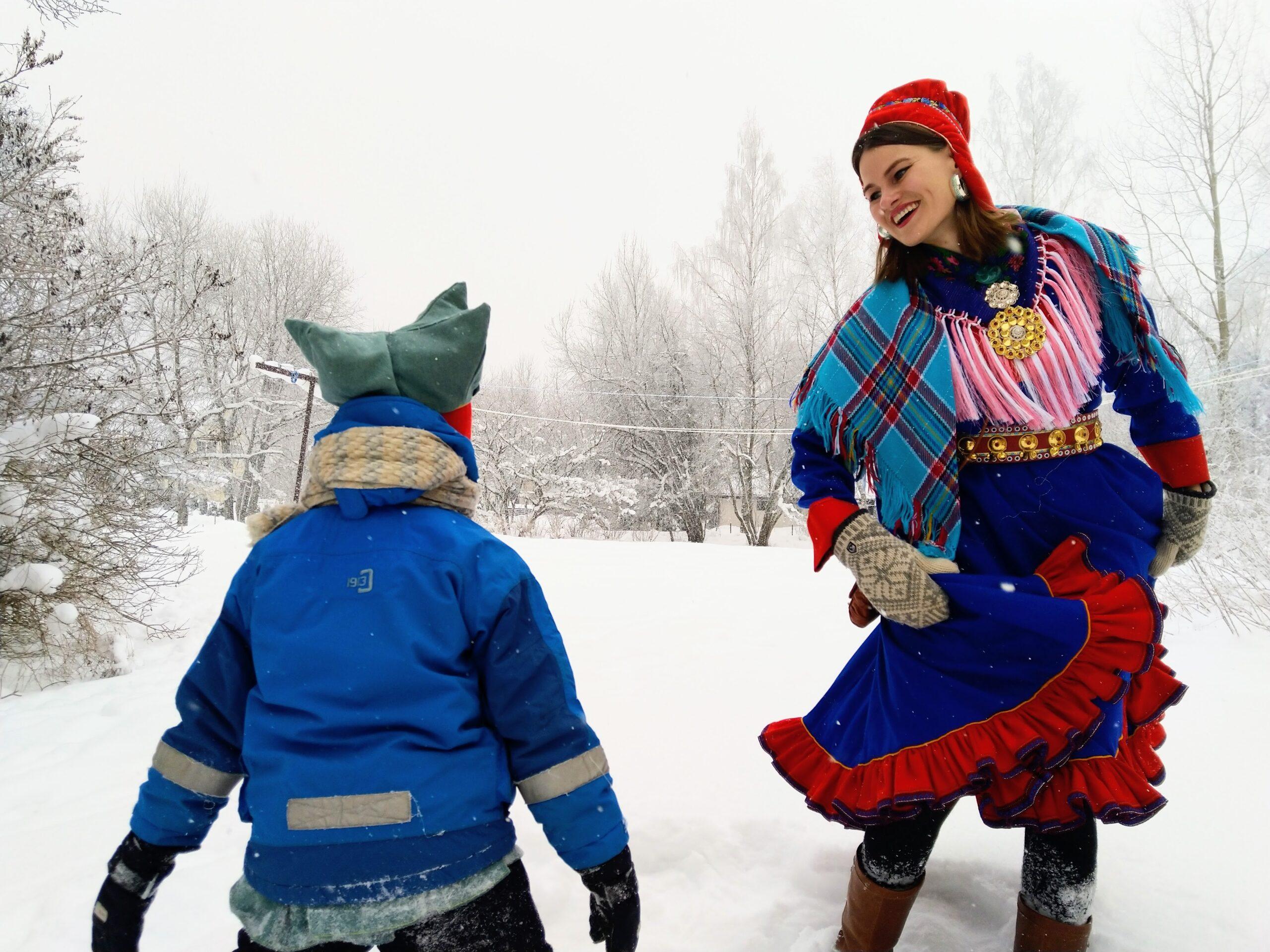 Image of Finnish Sámi speaker - Making Space for Europe's Endangered Languages