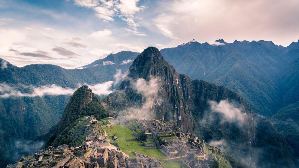 view of macchu picchu quechua language